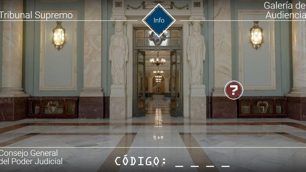 Escapar del Supremo, un juego de niños virtual