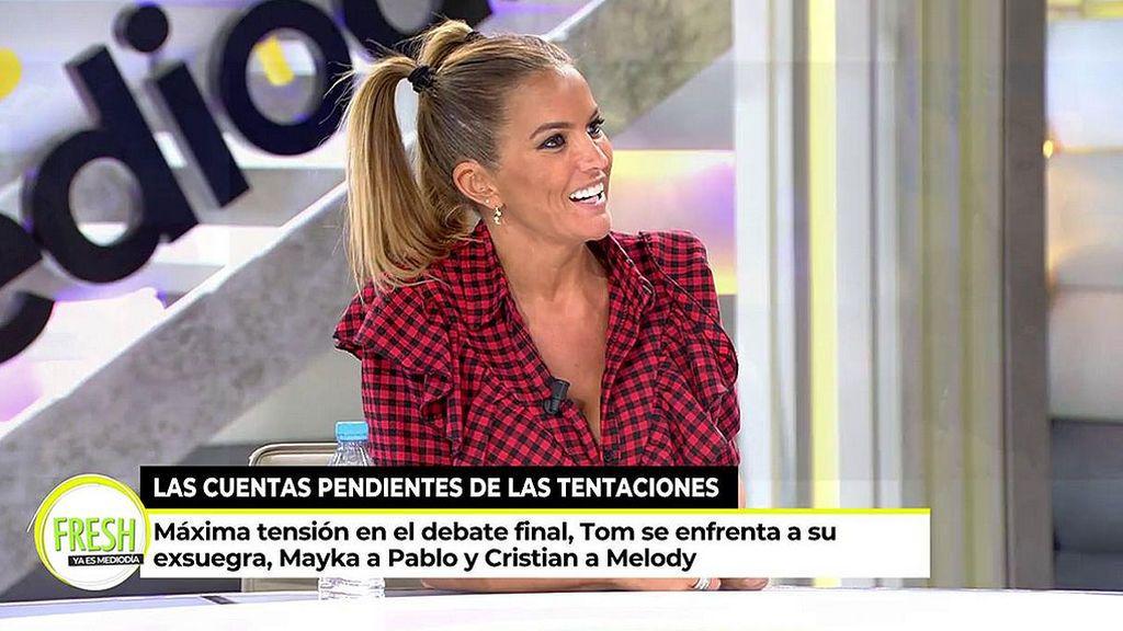"""Marta López: """"Mayka y Tony Espina llevan casi un mes de relación"""""""