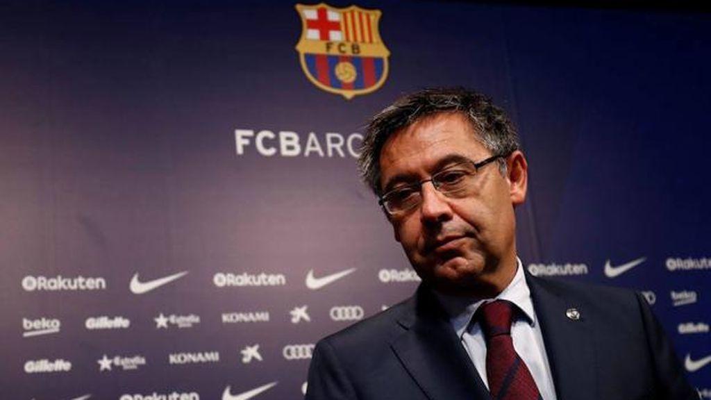 Bartomeu anuncia su dimisión como presidente del Barcelona
