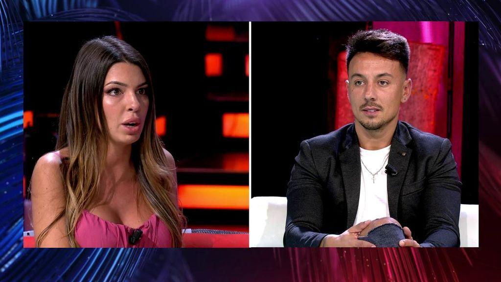 """Andrea desenmascara a Cristian revelando que le fue infiel a Melodie: """"Nos liamos en República Dominicana"""""""