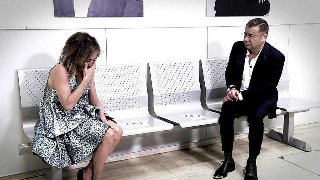 ¿Qué le pasa a María Patiño? Los 'disgustos' que provocaron las lágrimas de la presentadora