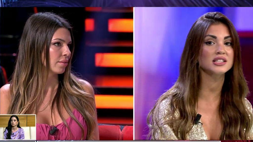 El cara a cara entre Melodie y Andrea