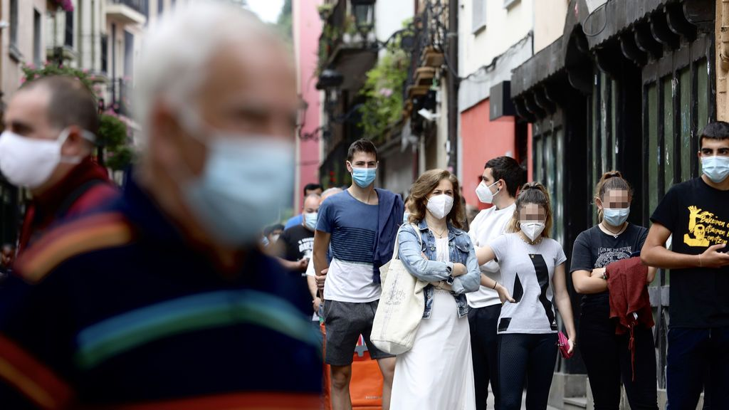 Datos coronavirus País Vasco