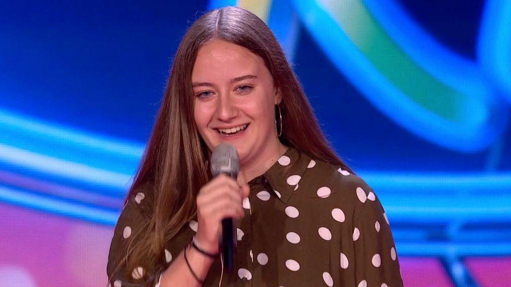 Vídeo: la actuación de Alexandra en el Ránking