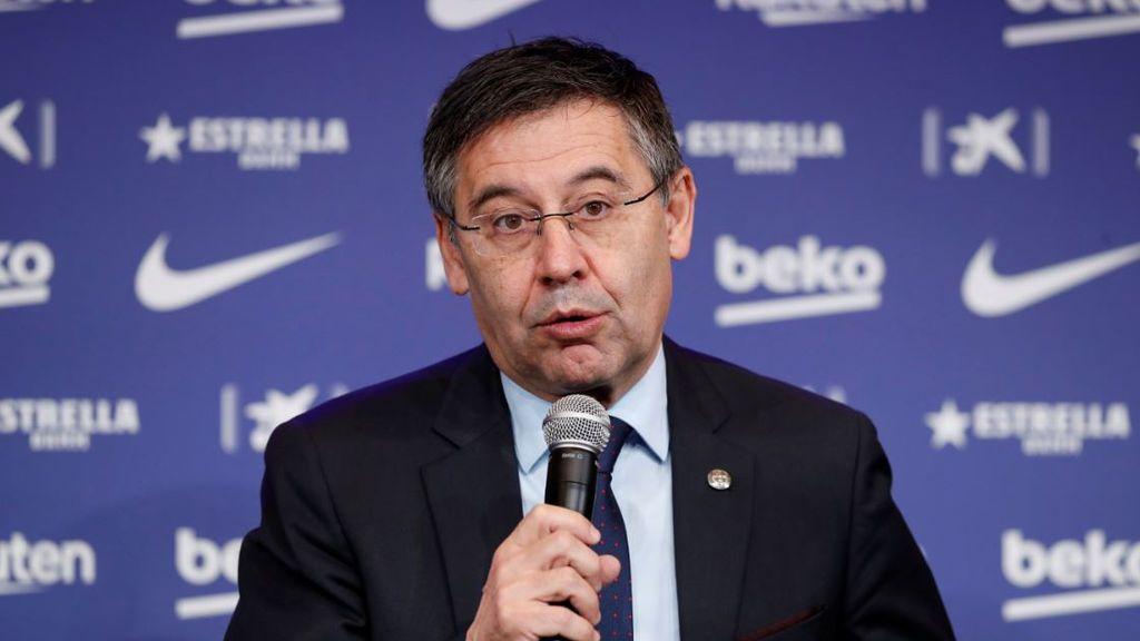 Bartomeu presenta su dimisión como presidente del Barça