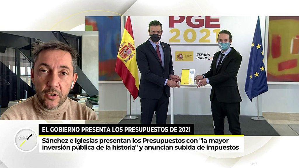 Javier Ruíz analiza la subida de impuestos