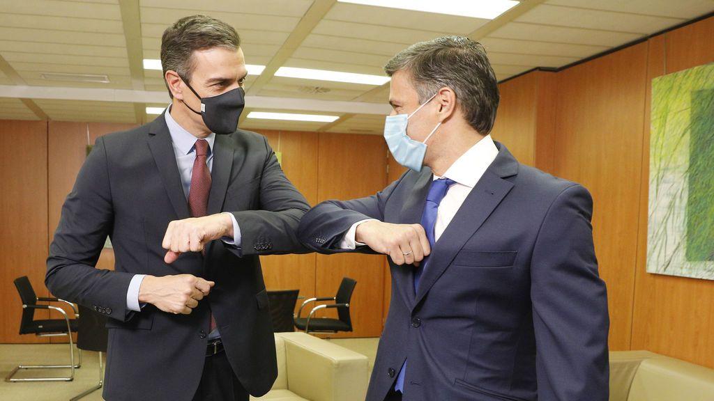 Sánchez se reúne con el opositor venezolano Leopoldo López en la sede del PSOE