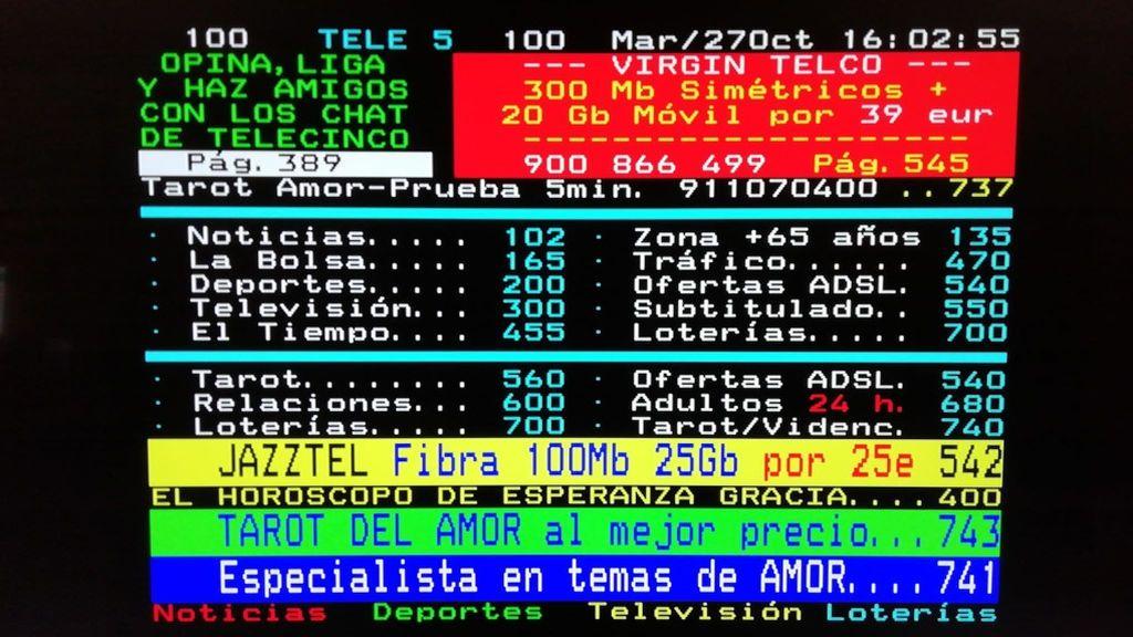 Presos de la cárcel de Pontevedra usaban el teletexto de la televisión para comunicarse con el exterior