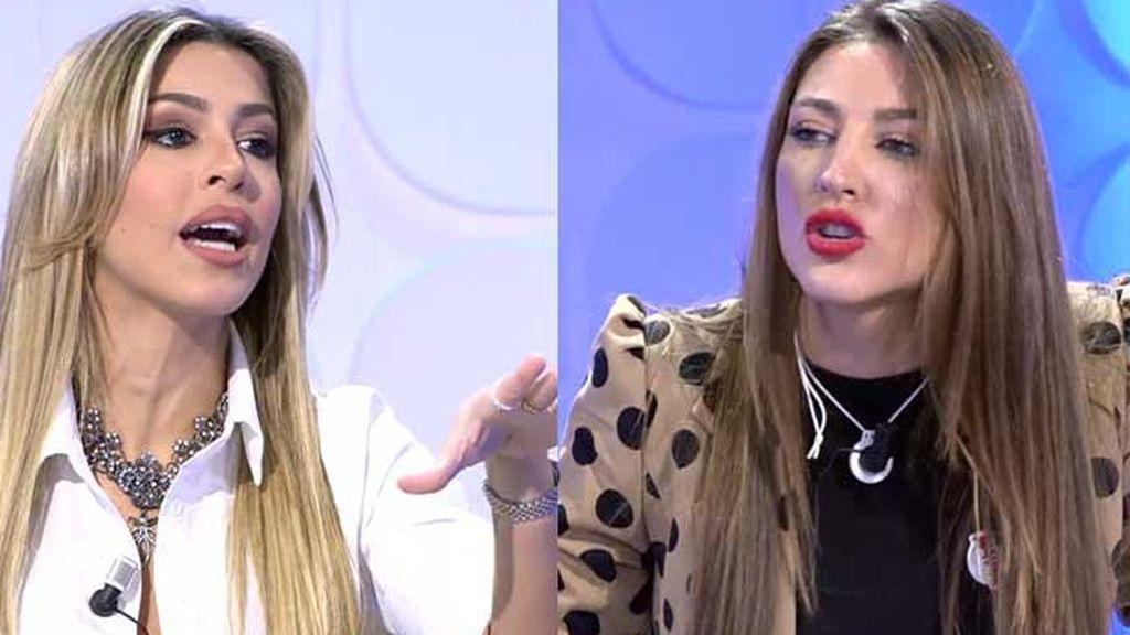 """Oriana se enfrenta a Carmen tras dar detalles de su vida íntima con Álex: """"Eras un saco de patatas"""""""