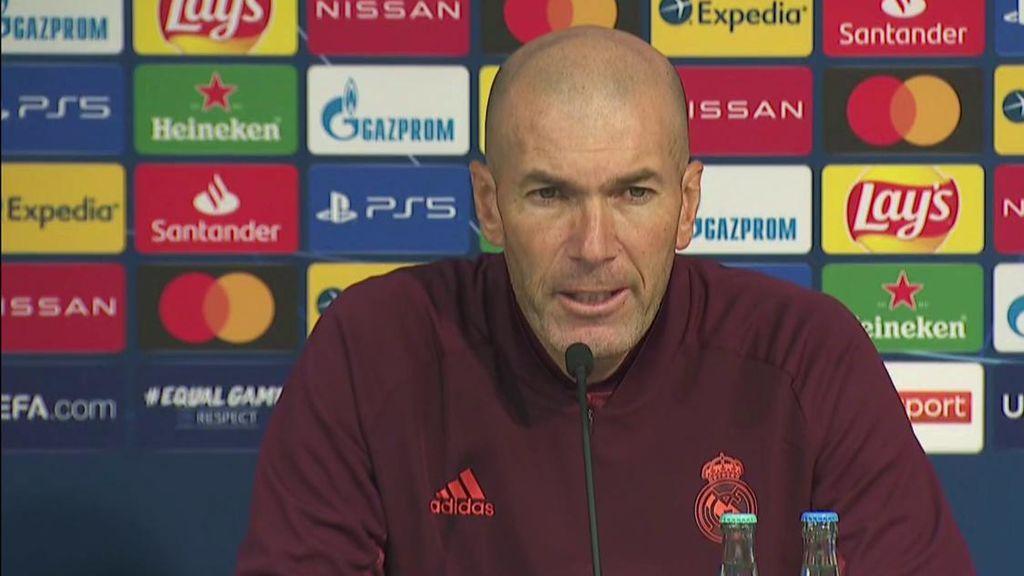 Zidane entiende las palabras de Isco sobre la falta de minutos y no está enfadado con él