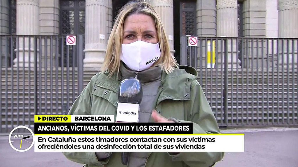 Mayka Navarro advierte a los mayores del aumento de estafas