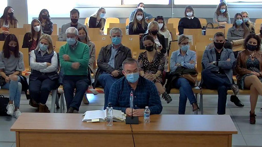 Declaraciones de Salvador en el juicio de 'la viuda de Patraix'