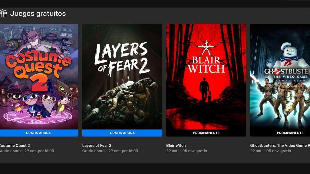 Juegos gratis en Epic Games Store