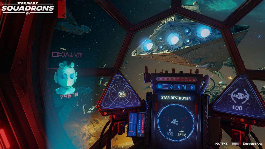 Star Wars Squadrons se actualiza con contenidos de The Mandalorian