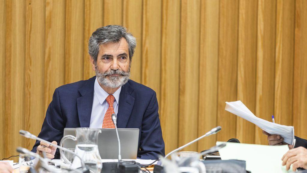 Carlos Lesmes, presidente del CGPJ