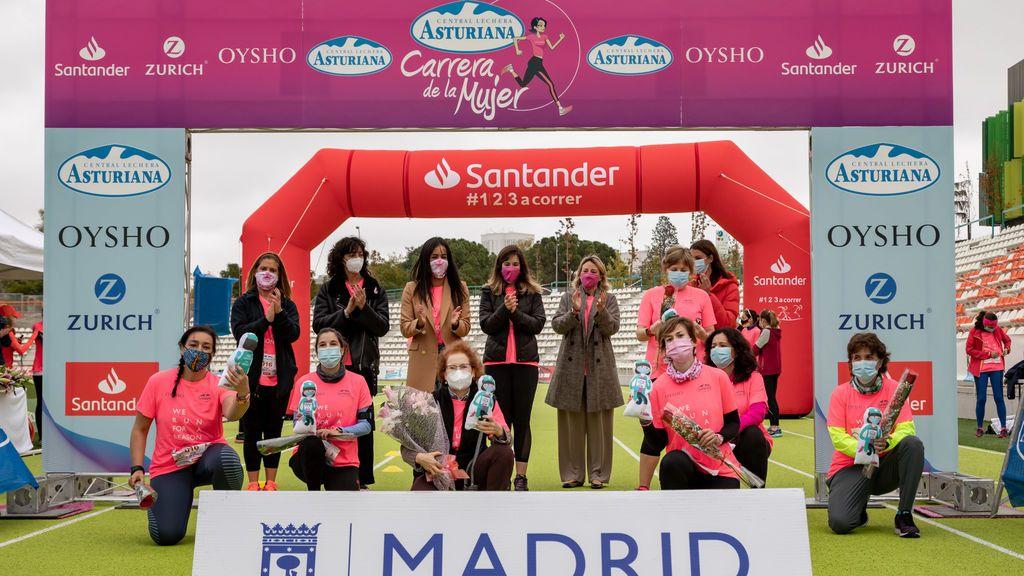 La marea rosa sigue recorriendo España, Madrid fue la última ciudad en recibir La Carrera de la Mujer