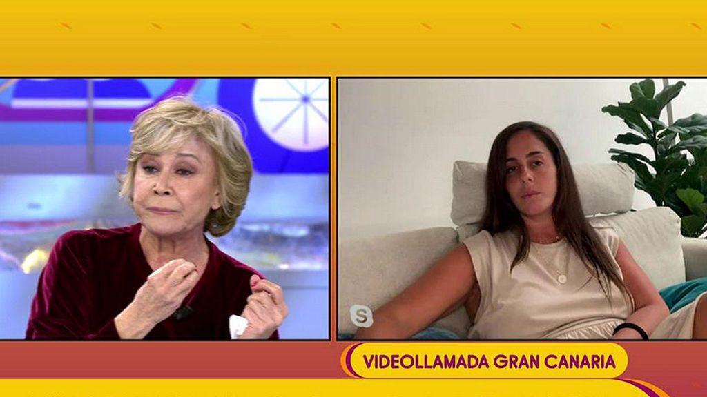 Anabel Pantoja opina sobre el conflicto de su primo Kiko y su tía Isabel