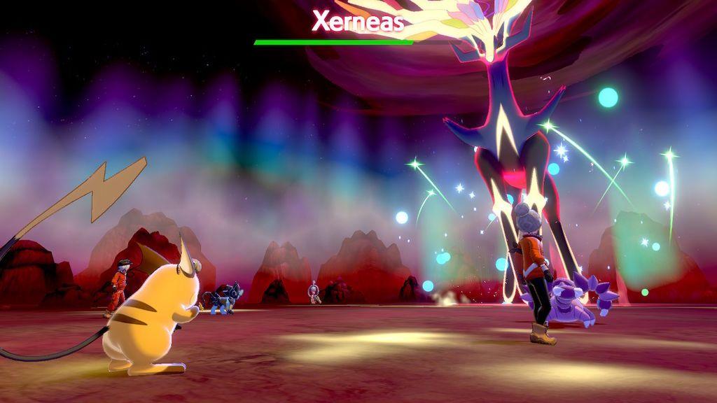 Las Nieves de la Corona, Pokémon Espada y Escudo