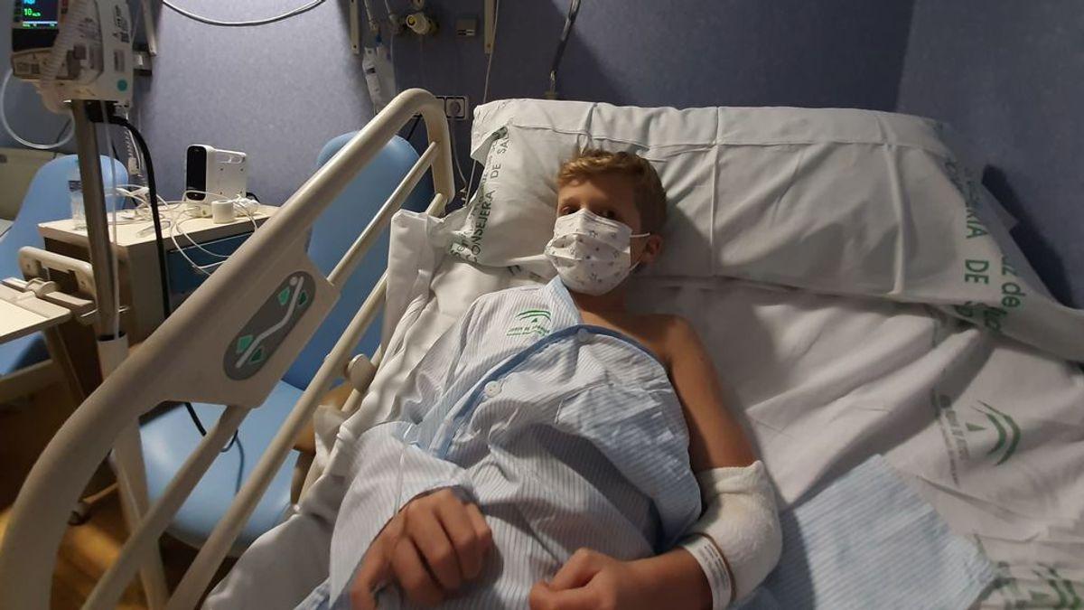 Ocho días en un hospital con Covid: la odisea de Raúl y su hijo de ocho años, aislados en una habitación