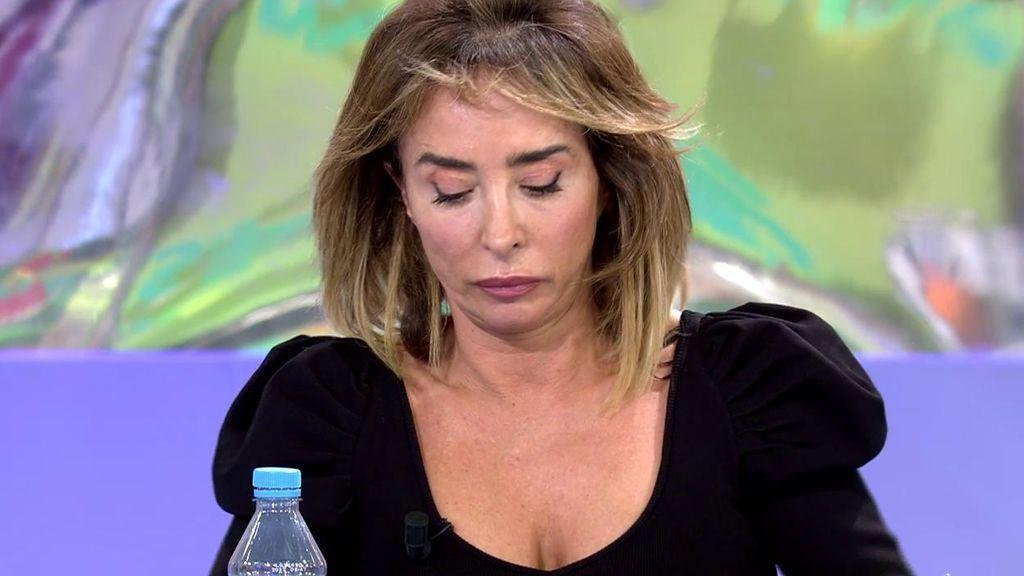 """María Patiño se confiesa: """"Cuando me he levantado no quería venir a trabajar"""""""