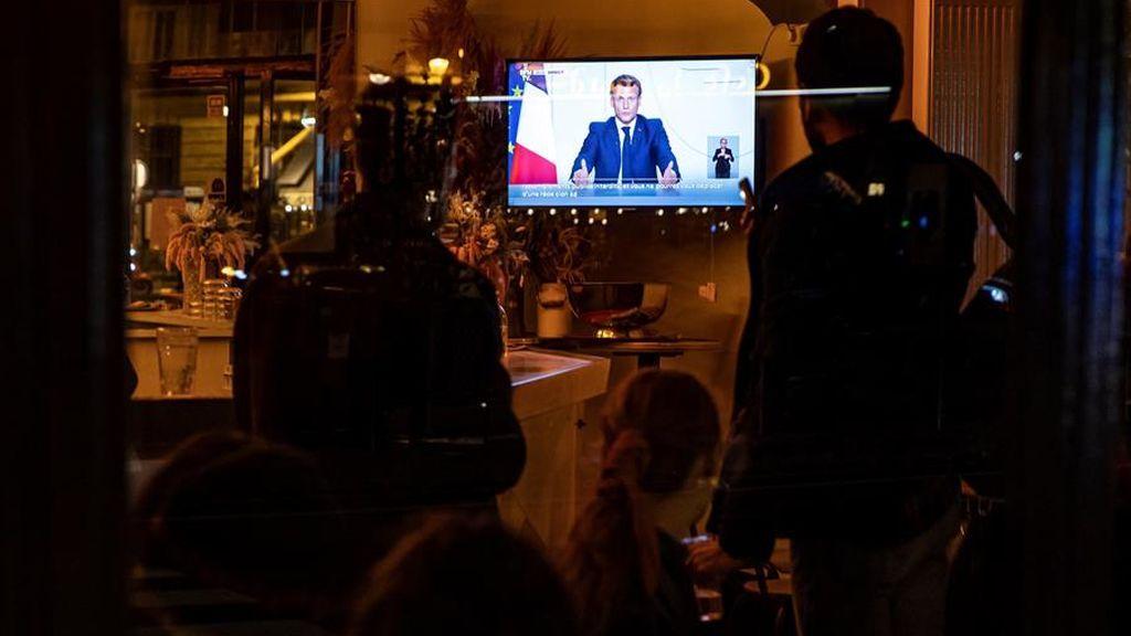 Macron cierra Francia