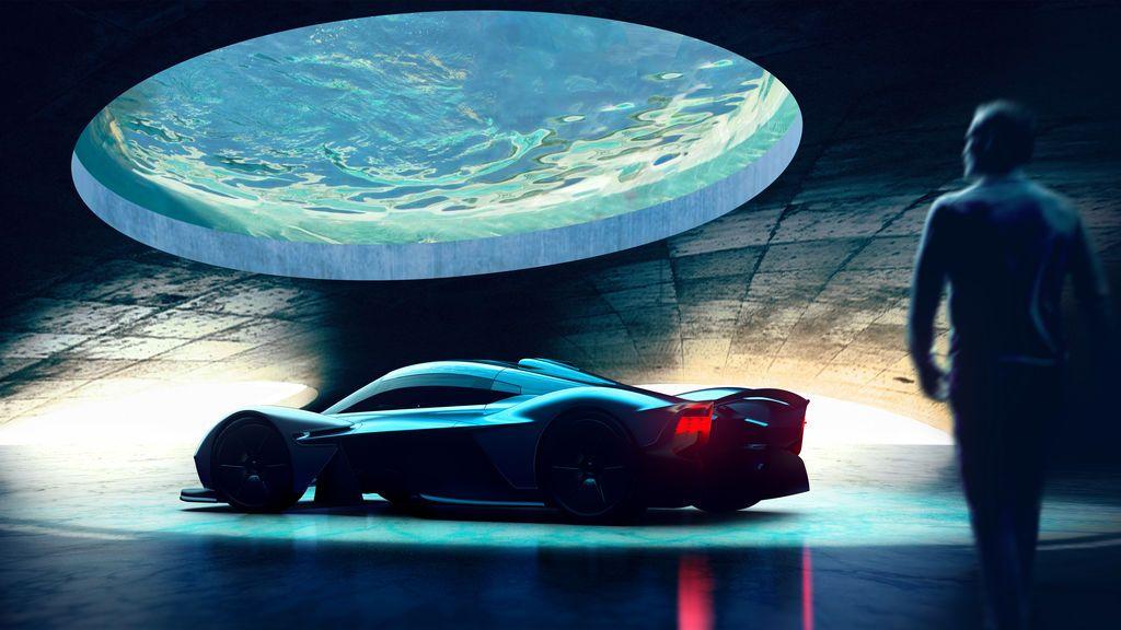 Una pecera o una cascada: Aston Martin diseña garajes exclusivos en las casas de sus clientes