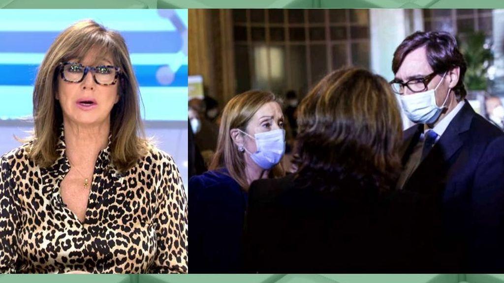 Ana Rosa y su tirón de orejas a los políticos que acudieron a la fiesta de 'El Español'