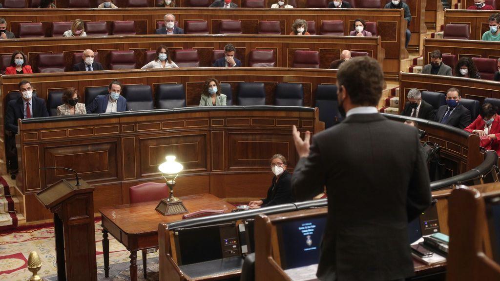 debate en el Congreso sobre la duración del estado de alarma