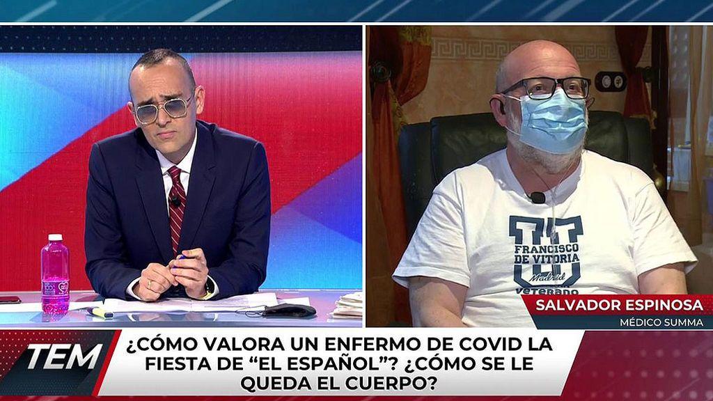 Salvador Espinosa, médico SUMMA afectado por covid19