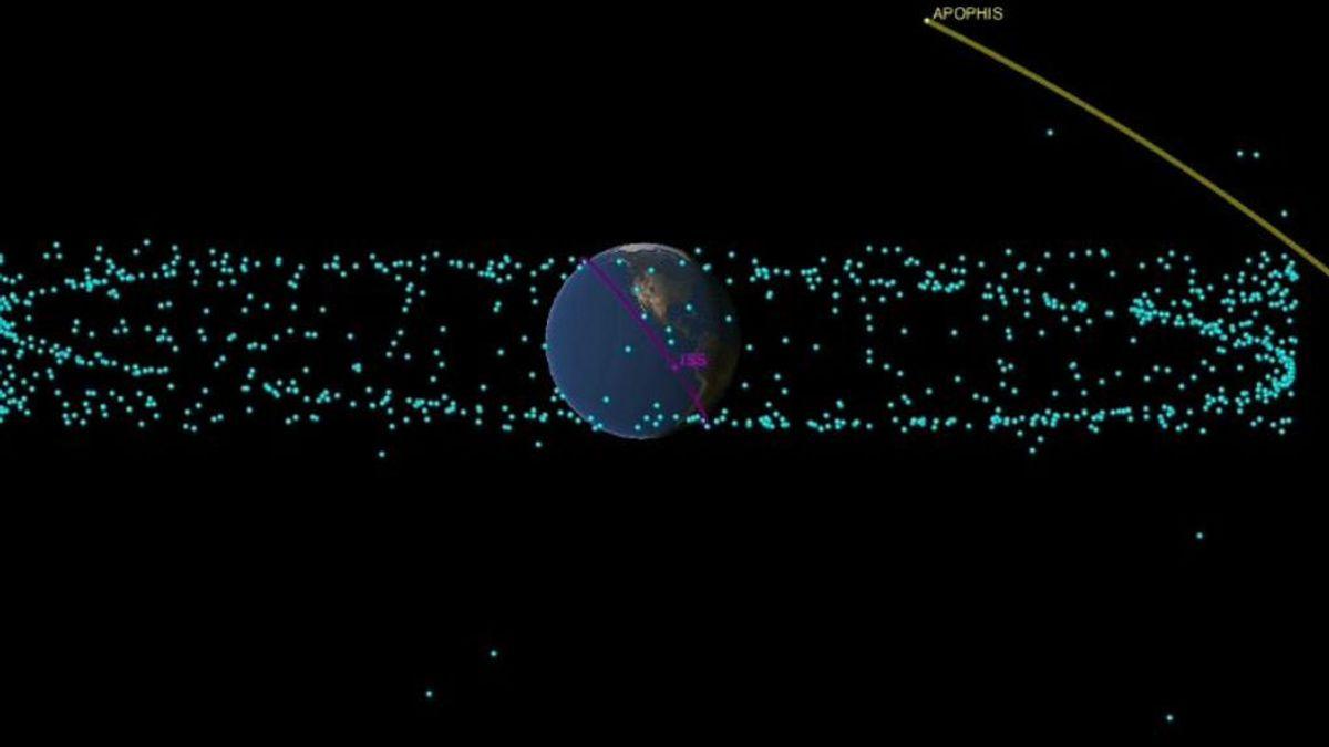 Como 50 bombas atómicas: los efectos del asteroide Apophis si llega a impactar contra la Tierra en 2068