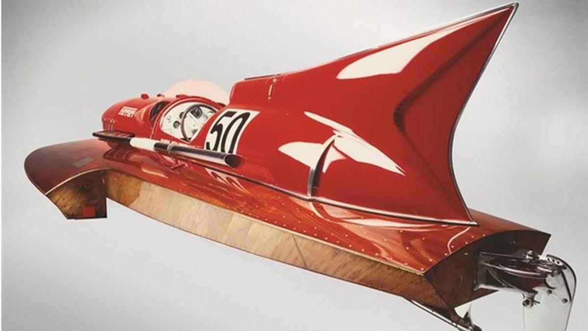 Ferrari Arno XI: un barco de competición de récord y el único del mundo con motor Ferrari