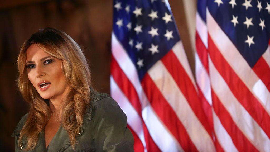 Melania aparece en campaña electoral tras recuperarse del Covid