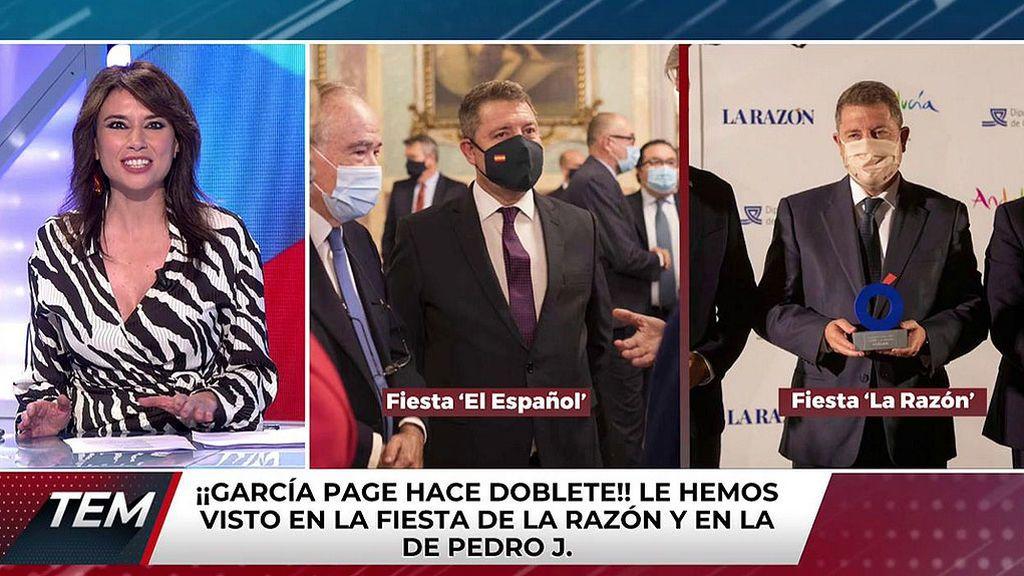 ¡García-Page hace doblete! De la fiesta de la Razón a la fiesta de El Español