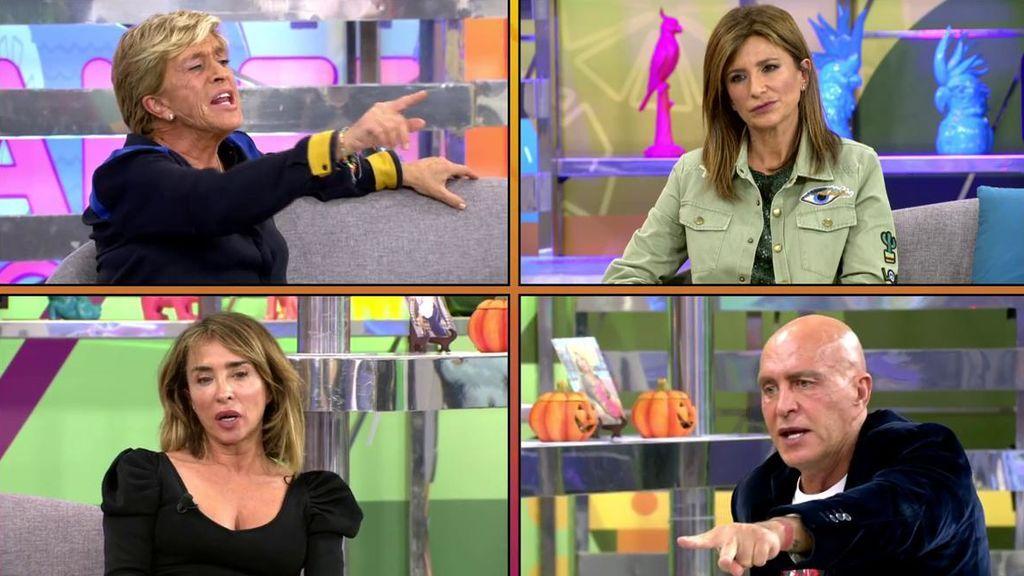 Chelo Gª Cortés ha dicho algo que podría terminar con su amistad con Gema López y María Patiño: algo de su vida privada