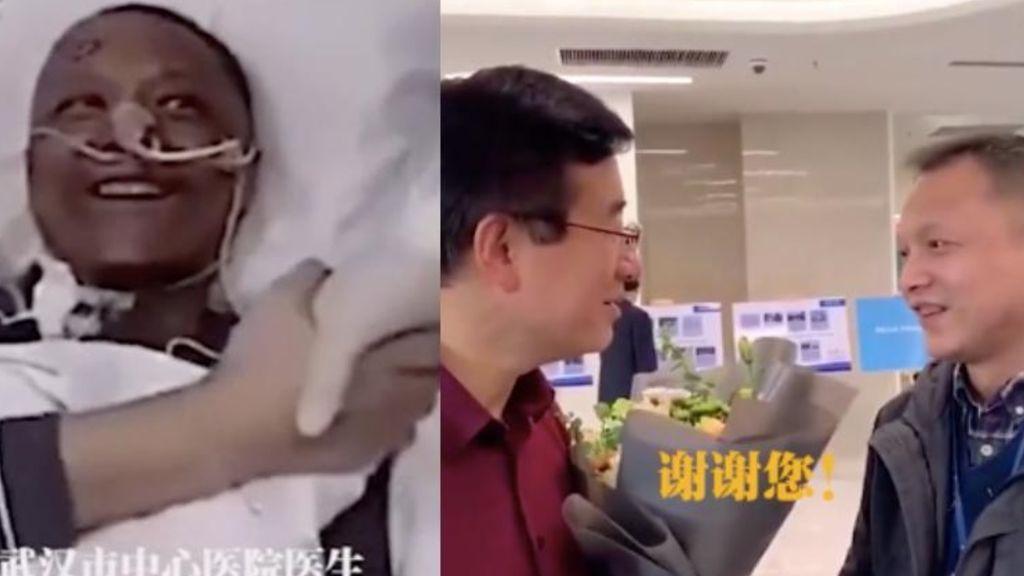 Reaparece Yi Fan, el médico chino que cambió de color por el tratamiento contra el covid