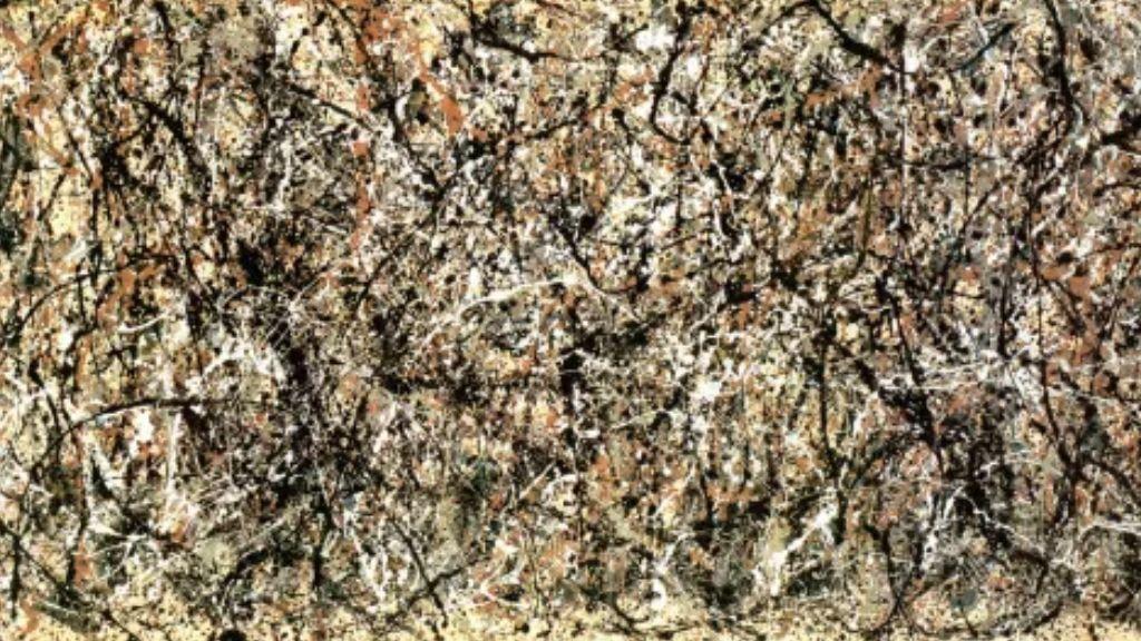La pintura abstracta que representa a 'El Otoño'