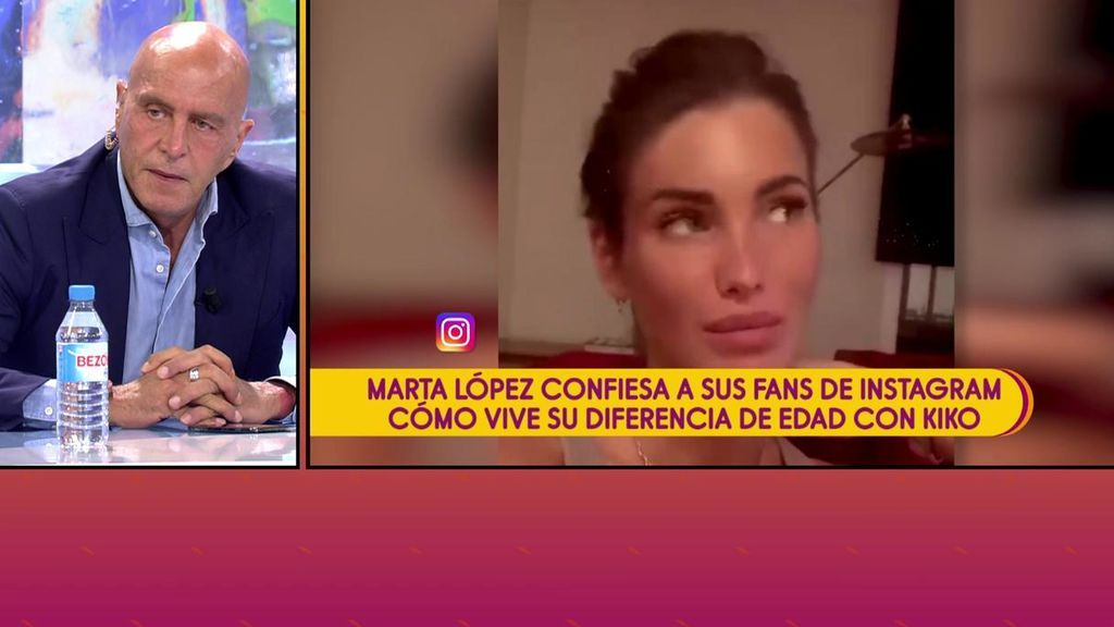 """La dura reflexión de la novia de Kiko Matamoros: """"Es duro pensar que no voy a estar con él toda mi vida, me dan ganas de llorar"""""""