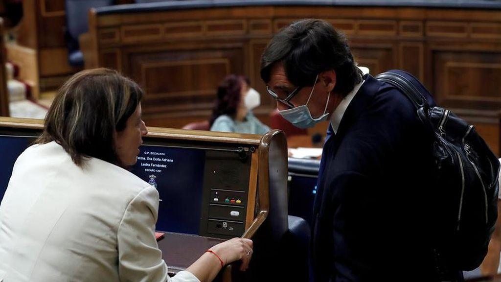 Una amplia mayoría del Congreso respalda el estado de alarma pero critica  la ausencia de Sánchez