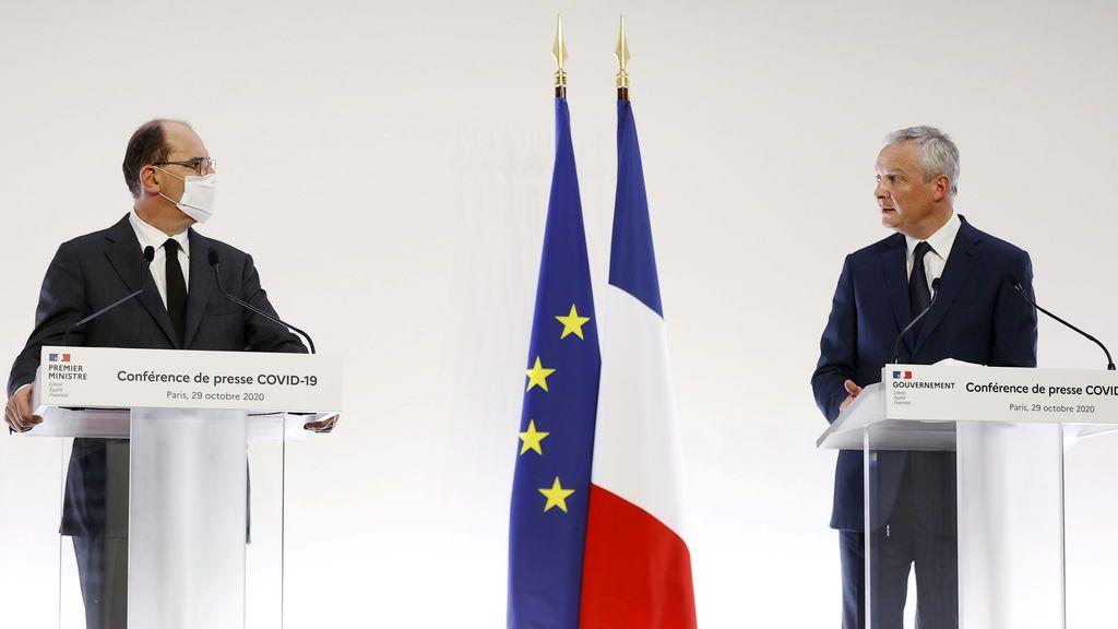 Francia fija en 15.000 millones de euros el coste del nuevo confinamiento