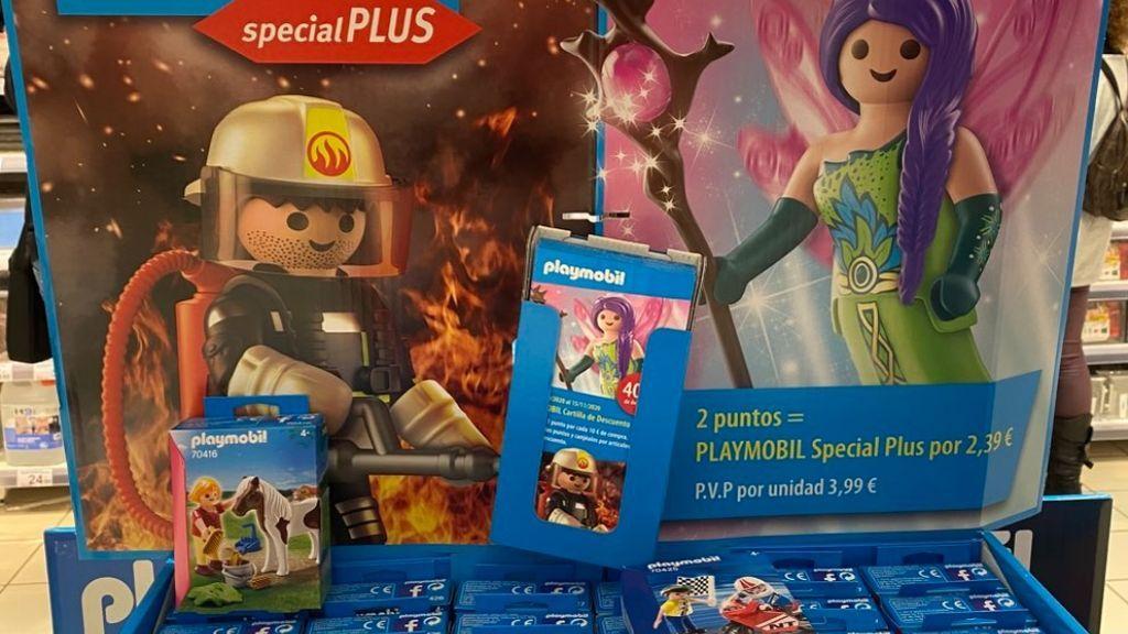 El bombero para los chicos y la hadita del bosque para las niñas