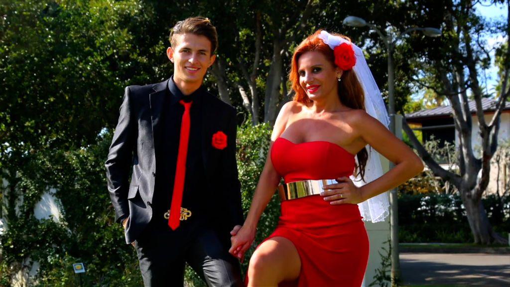 Sonia Monroy y su novio en 'Sábado Deluxe'