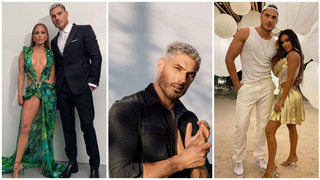 Chris Appleton, el exitoso y guapo peluquero de JLo y Kim Kardashian que crea sus excéntricos looks.
