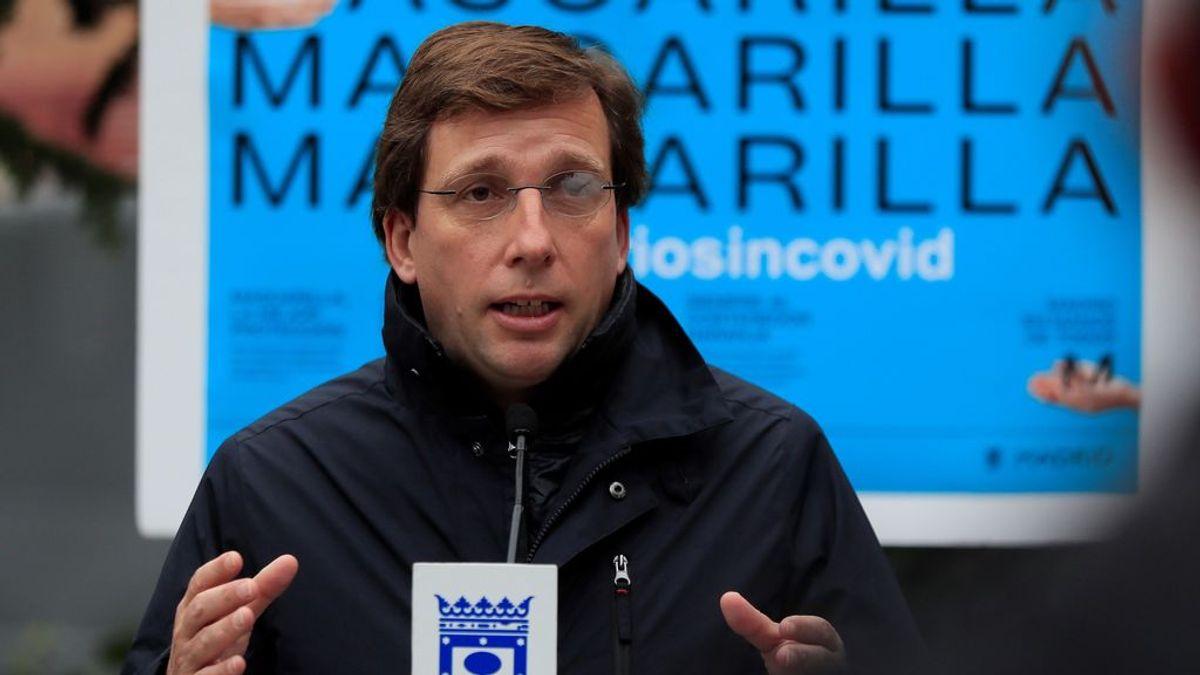 El alcalde de la capital, José Luis Martínez-Almeida