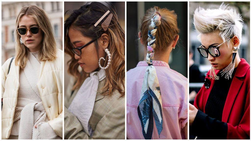 Corte pixie y abalorios en el pelo: Estos son los peinados del 'street style' que más se llevarán este otoño.