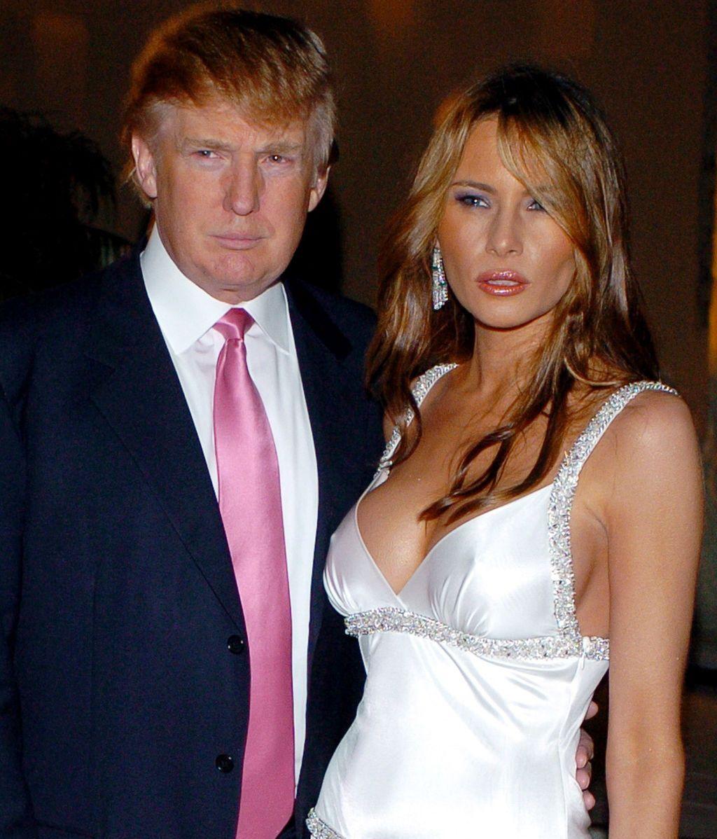 Melania y Donald en 2005