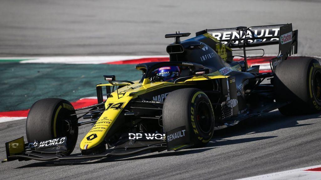 Fernando Alonso volverá a subirse al Renault RS20 la próxima semana en Baréin