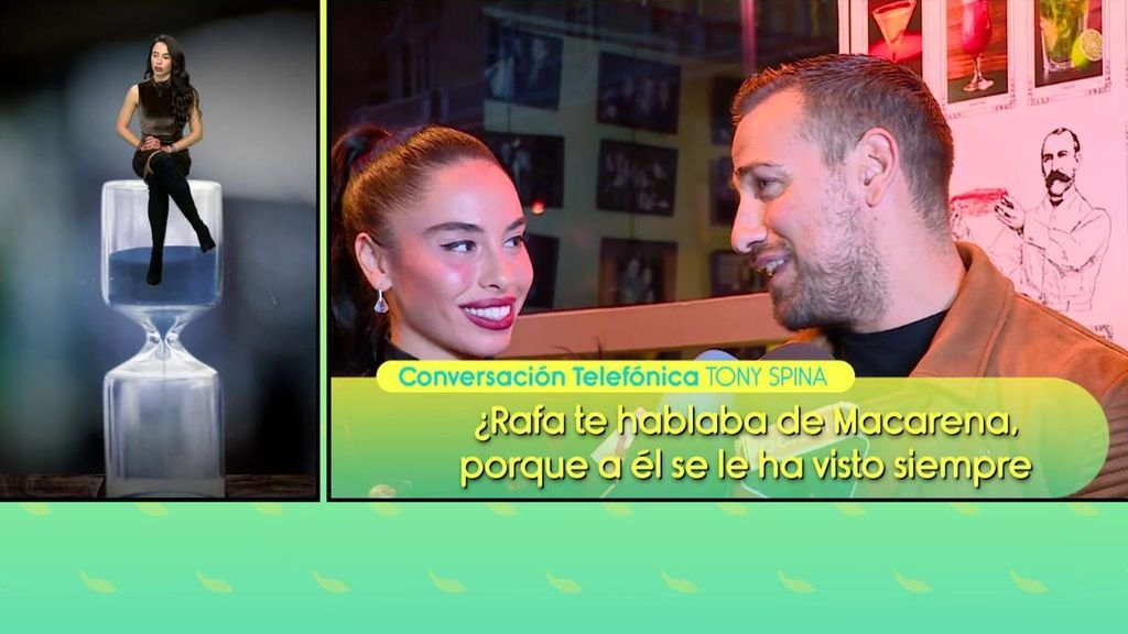 """Tony Spina y Oriana Marzoli acusan a Rafa Mora de ser desleal a su novia: """"Lo he presenciado"""""""