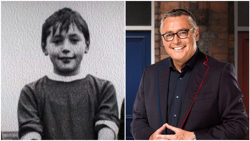 Michael Robinson, de su etapa en el colegio a 'Informe Robinson'.