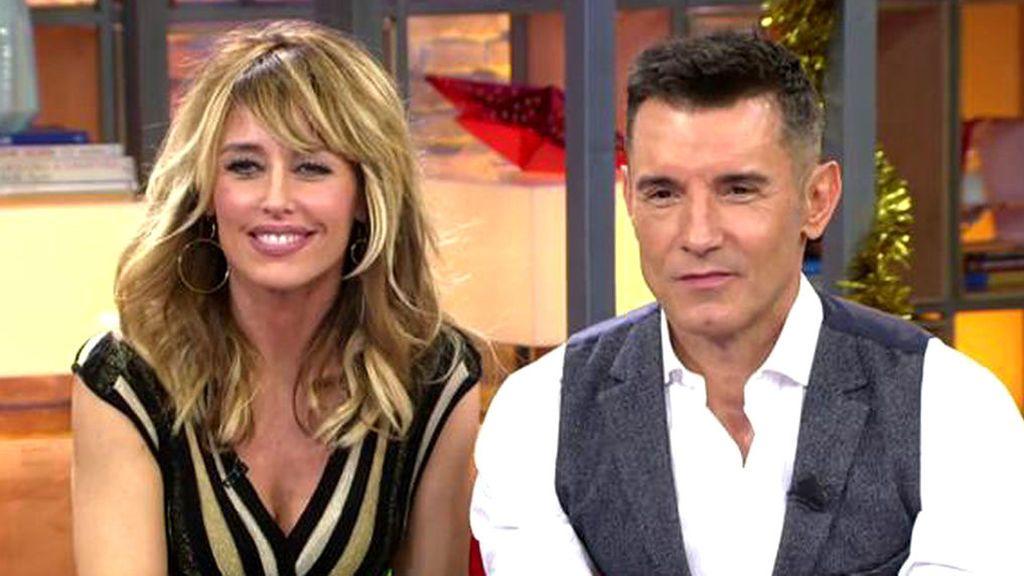 Emma García y Jesús Vázquez, en 'Viva la vida'