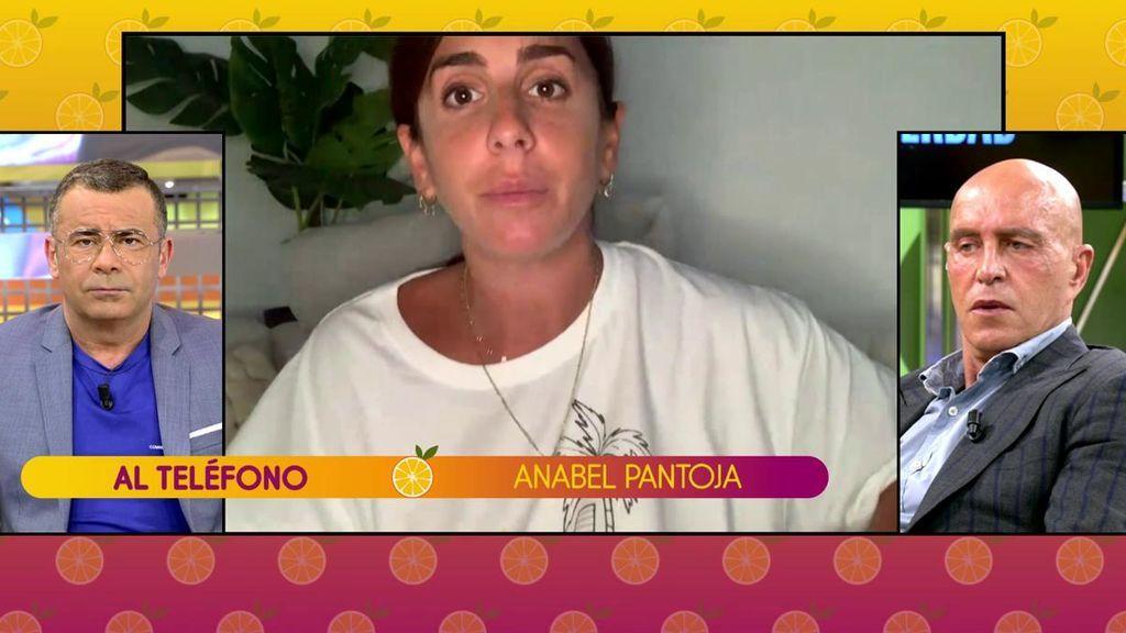 """Anabel Pantoja vuelve a enfrentarse a los colaboradores de 'Sálvame': """"¡No soy ninguna nini!"""""""
